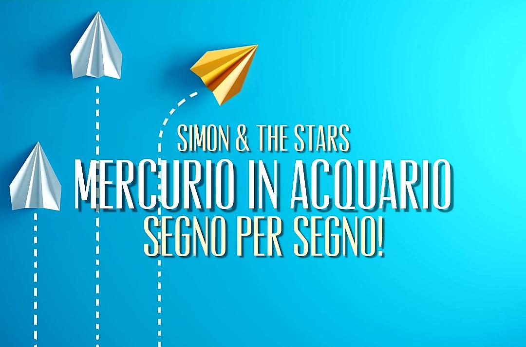 Mercurio in Acquario -